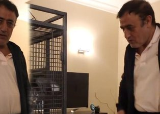 Mahmut Tuncer papağanla halay çekti! Sosyal medya yıkıldı