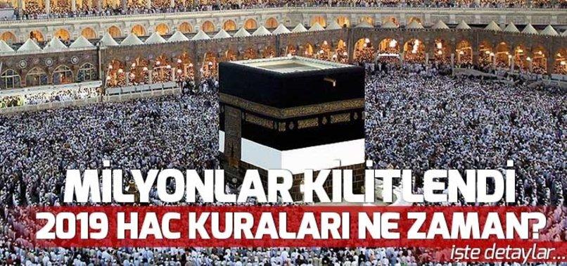 HAC KURALARI NE ZAMAN? (2019) HAC KURA KAYITLARI BAŞLIYOR!