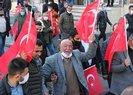 Şırnak teröre karşı tek yürek! Gara şehitleri için PKKya lanet yürüyüşü