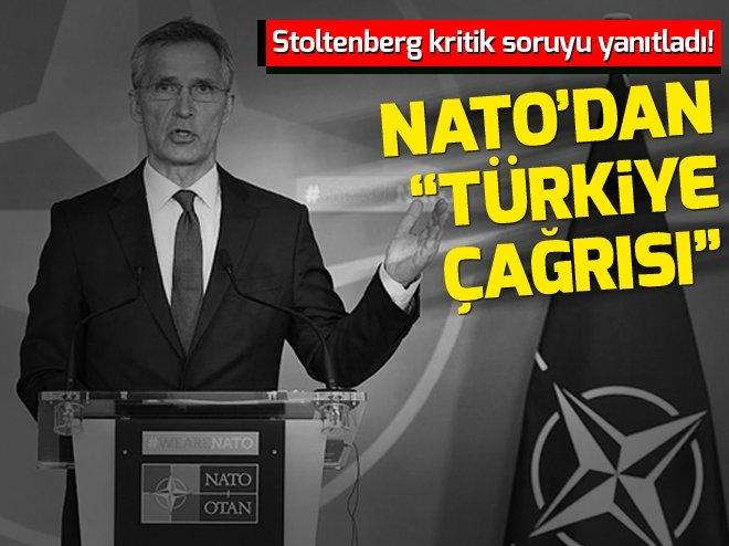 NATO Genel Sekreteri Jens Stoltenberg'ten Türkiye'ye destek çağrısı