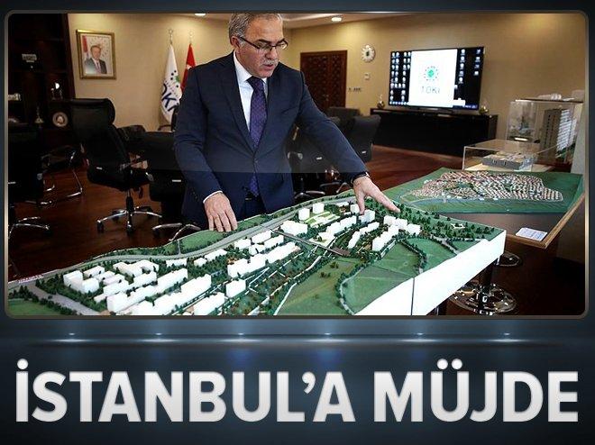 """TOKİ'DEN İSTANBUL'A """"YEŞİL ALAN"""" MÜJDESİ"""