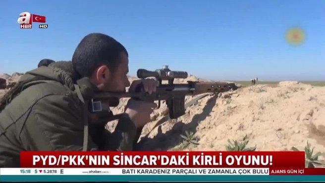 PYD/PKK'nın Sincar'da kirli oyunu!