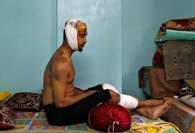 Hindistan'da öldüresiye dövülen Muhammed Zübeyir dehşet anlarını anlattı 1