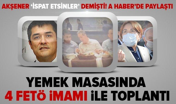 İYİ Parti'yi karıştıracak görüntü! Adem Taşkaya A Haber'de yayınladı...