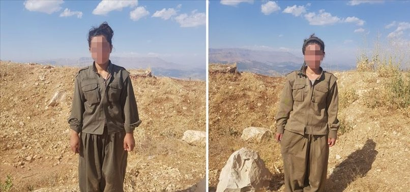 PKK'DAN KAÇIŞLAR SÜRÜYOR! 2 KADIN TERÖRİST TESLİM OLDU