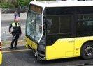Son dakika: Üsküdar'da iki metrobüs çarpıştı: 10 yaralı var