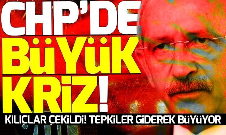 CHP'DE ART ARDA İSTİFALAR