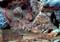 NASA paylaştı! 'Mars yüzeyinde kaza yapmış UFO var...'