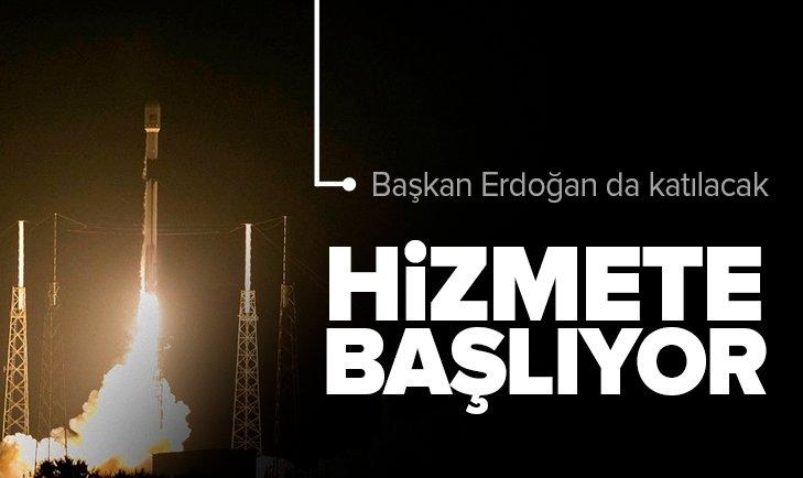 Türksat 5A bugün hizmete başlıyor! Başkan Recep Tayyip Erdoğan da katılacak