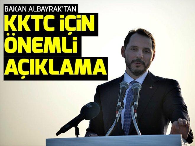 BAKAN ALBAYRAK'TAN KKTC AÇIKLAMASI