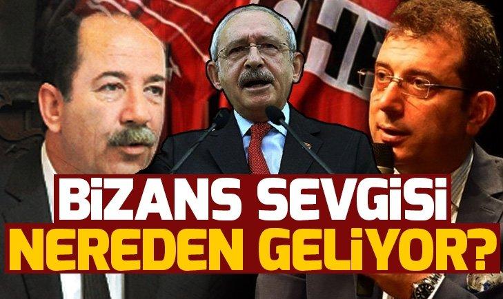 CHP'NİN BİZANS SEVGİSİ!