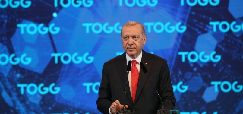 Yerli otomobil fabrikasının temel atma töreninde Başkan Erdoğan'dan flaş açıklamalar