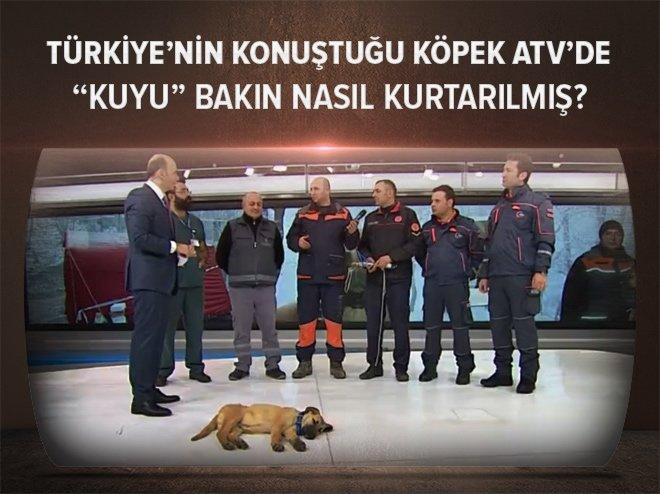 YAVRU KÖPEK 'KUYU' ATV HABER'DE