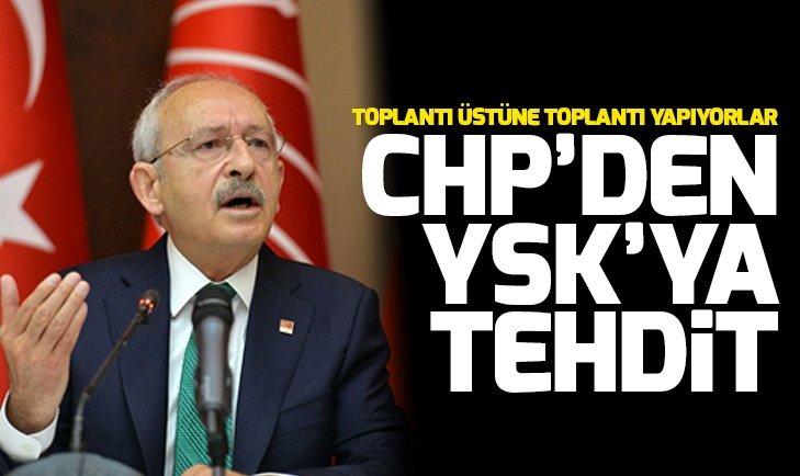 CHP'den YSK'ya tehdit