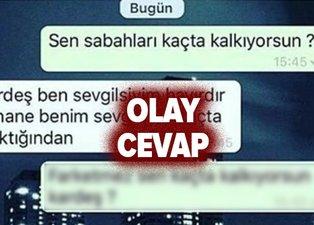 WhatsApp'tan yazdı, kızın sevgilisi cevap verdi! Türkiye WhatsApp'taki bu mesajlaşmayı konuşuyor