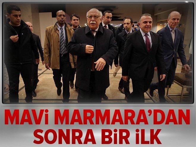 BAKAN NABİ AVCI İSRAİL'E GİTTİ