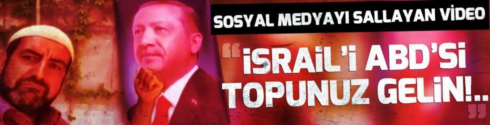 İsrail'i ABD'si topunuz gelsin ulan! Görüyorsunuz kahramanı...
