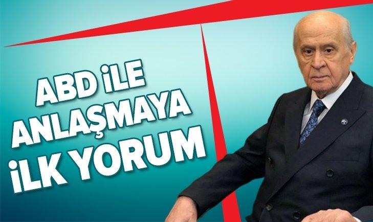 BAHÇELİ'DEN ANLAŞMAYA İLK YORUM!