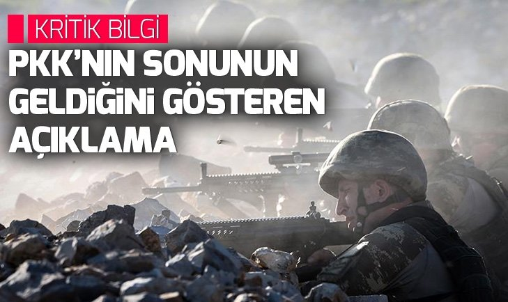 PKK'nın lider kadrosundaki 7 terörist öldürüldü