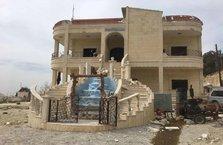 PKK'lıların ele geçirilen villaları böyle görüntülendi