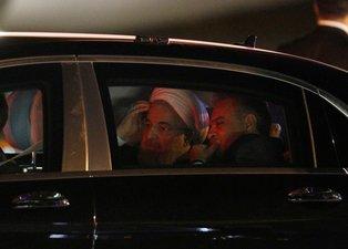 Son dakika: Hasan Ruhani Türkiye-Rusya Federasyonu-İran Üçlü Zirvesi için Ankara'da...