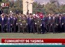 Cumhurbaşkanı Erdoğan ve beraberindeki devlet erkanı Anıtkabir'de... |Video