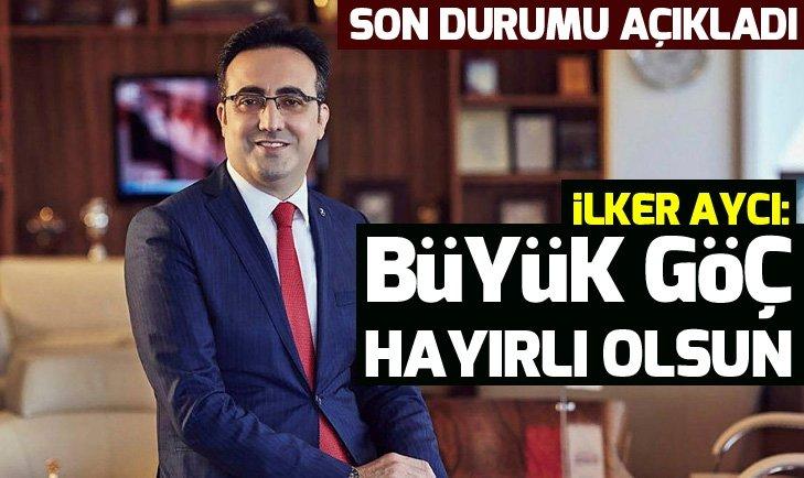 THY Yönetim Kurulu Başkanı İlker Aycı: Büyük göç hayırlı olsun