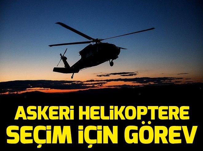 Askeri helikoptere seçim için görev