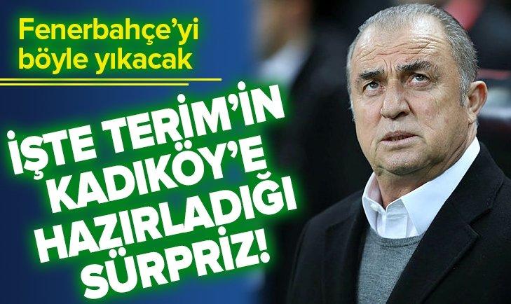 FATİH TERİM FENERBAHÇE'Yİ UZAKTAN VURACAK!