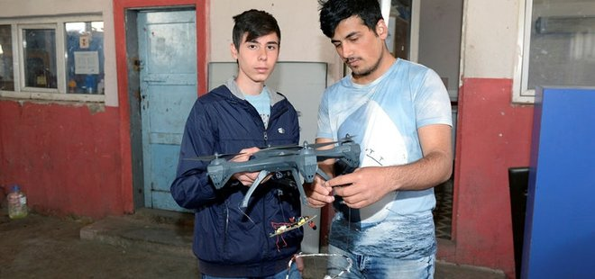 TOPRAĞA GİZLENEN PATLAYICI VE MAYINA 'DRONE'LU ÇÖZÜM