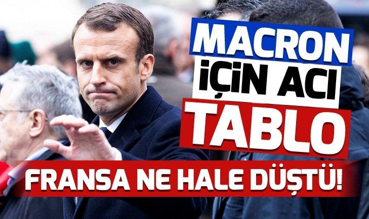 Macron için acı tablo: Fransa'da akaryakıt istasyonlarında yakıt sorunu başladı