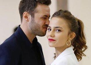 Bahar Şahin rol arkadaşı Mehmet Ozan Dolunay ile aşk yaşadığı iddialarını böyle yalanladı!