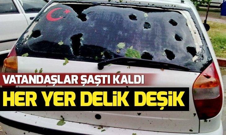 ARABALAR BU HALE GELDİ!