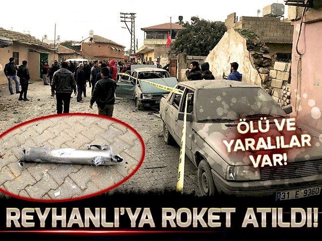 Afrin'den Reyhanlı'ya roket atıldı! Ölü ve yaralılar var