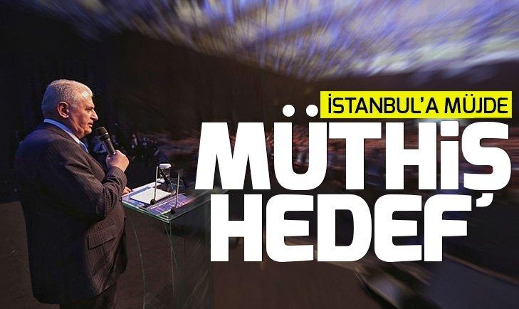 AK Parti'nin İstanbul adayı Binali Yıldırım'dan büyük müjde
