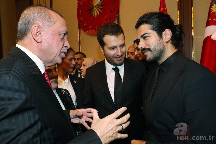 Beştepe'deki 29 Ekim Cumhuriyet Bayramı Kabul Töreni'nde ünlüler geçidi