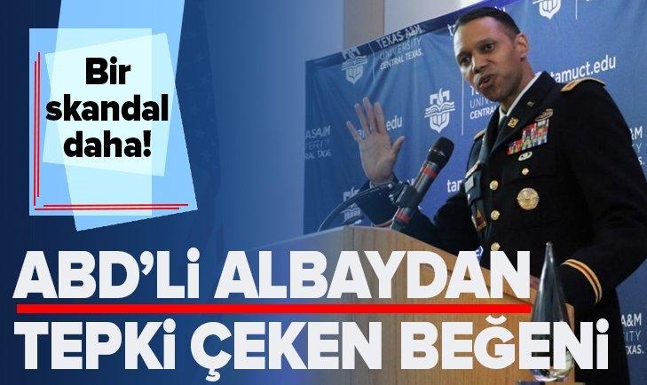 ABD'Lİ ALBAY MYLES CAGGİNS'TEN TEPKİ ÇEKEN BEĞENİ