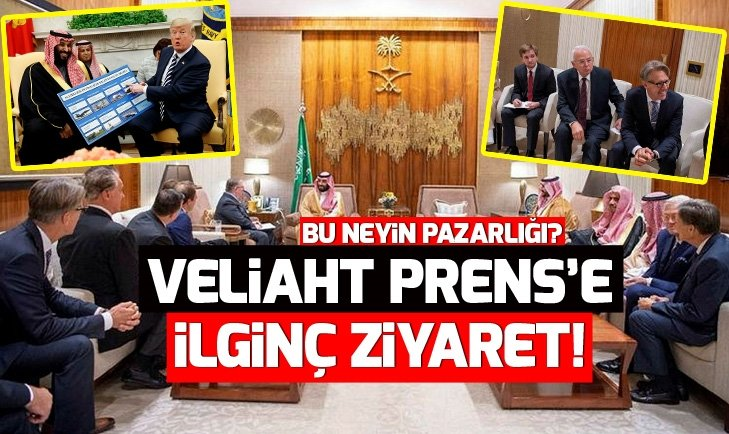 EVANJELİST RAHİPLER, PRENS SELMAN'LA!
