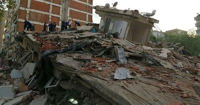 Son dakika: Milli Savunma Bakanlığı'ndan İzmir depremi açıklaması