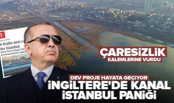 Kanal İstanbul The Economist'i panikletti! İngiliz medyası çaresizlikten soluğu küstahlıkta aldı