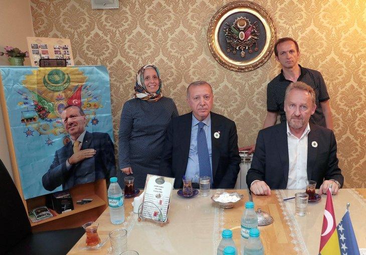 Başkan Erdoğan, Bakir İzetbegovicç ile görüştü