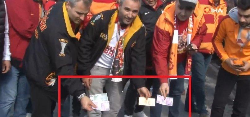 G.SARAY TARAFTARINDAN KADIKÖY'DE İLGİNÇ PROTESTO