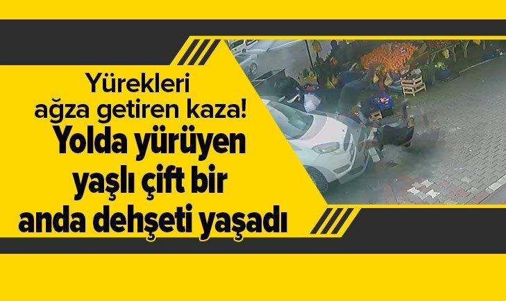 YÜREKLERİ AĞZA GETİREN KAZA!