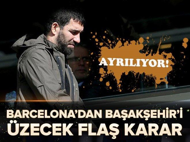 BARCELONA'DAN MEDİPOL BAŞAKŞEHİR'İ ÜZECEK ARDA TURAN KARARI!