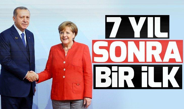 Başkan Erdoğan'dan 7 yıl sonra ilk
