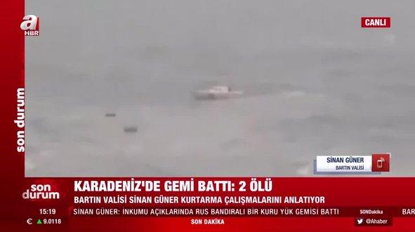 Bartın Valisi Güner: 4 kişi öldü 6 kişi aranıyor