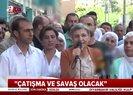 HDP'li vekilden küstah sözler: Çatışma ve savaş olacak! |Video