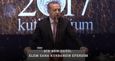 Başkan Erdoğan Mevlid Kandili'ni kutladı