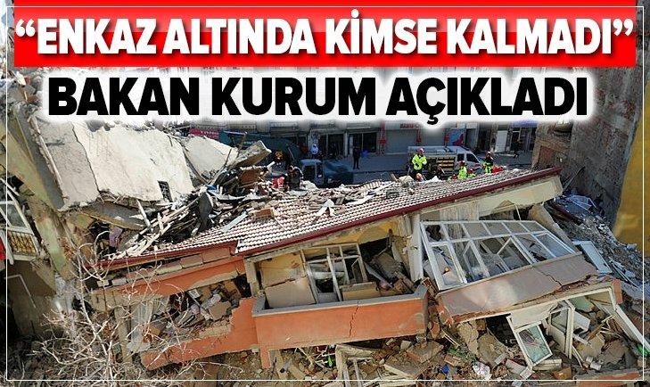 BAKAN MURAT KURUM'DAN FLAŞ AÇIKLAMA