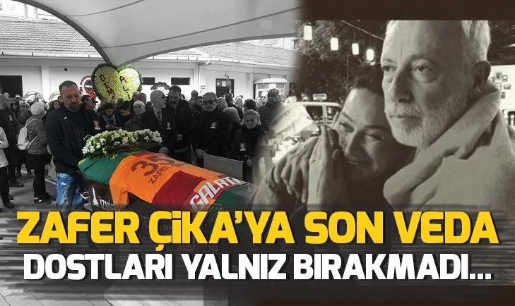 DEMET AKBAĞ'IN EŞİ ZAFER ÇİKA'YA SON VEDA!